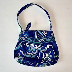 Vera Bradley small purse handbag blue flower